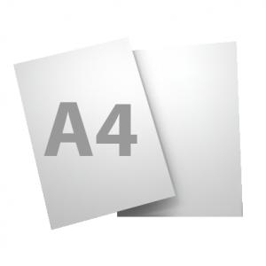 Standard A4 250gsm + gloss UV