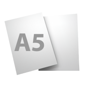 Standard A5 135gsm gloss