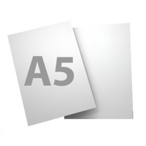 Standard A5 135gsm + gloss UV