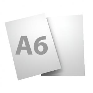 Standard A6 250gsm + gloss UV